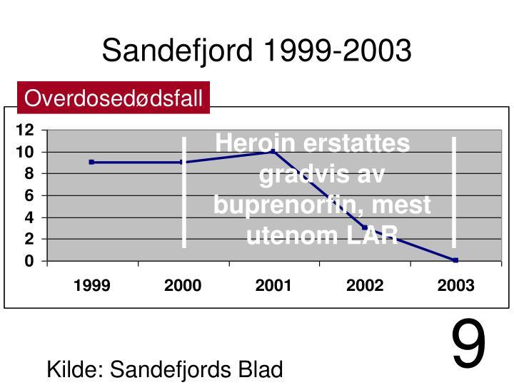 Sandefjord 1999-2003