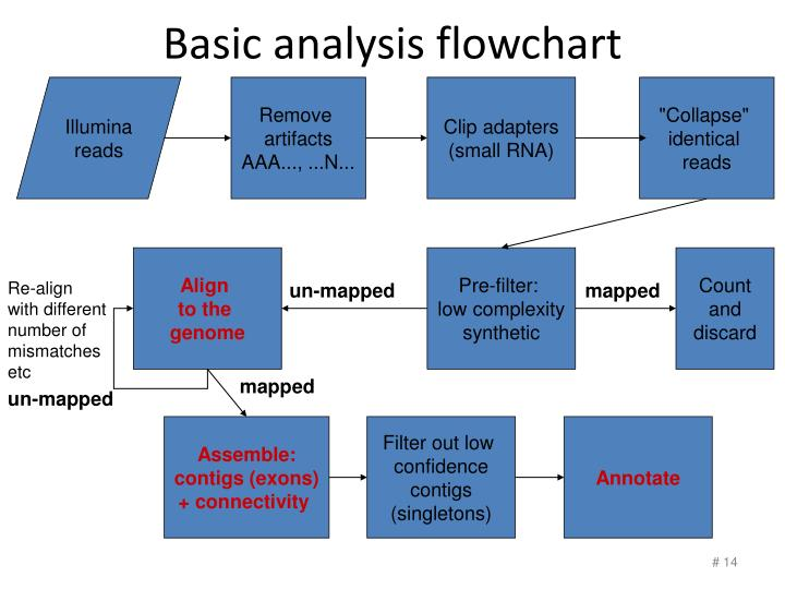 Basic analysis flowchart