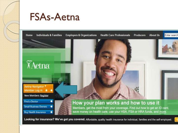 FSAs-Aetna