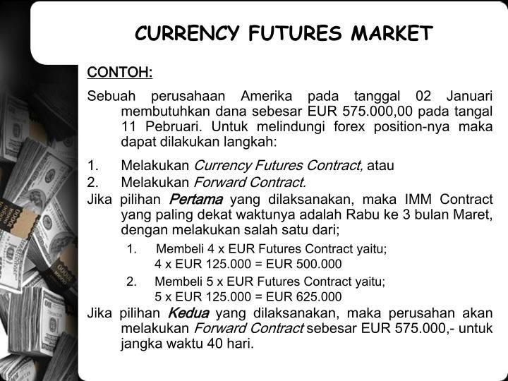 Forward forex contract adalah