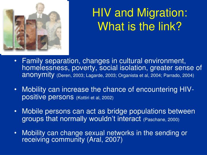 HIV and Migration: