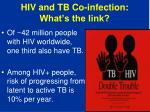 hiv and tb co infection what s the link
