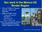 sex work in the mexico us border region