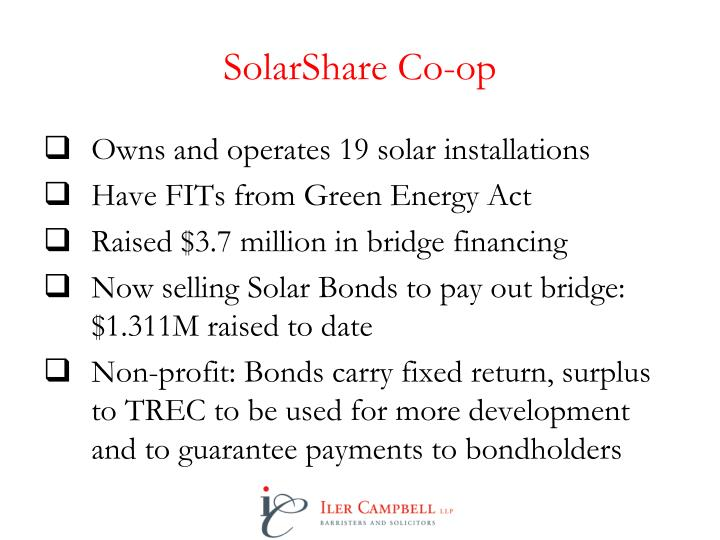SolarShare Co-op