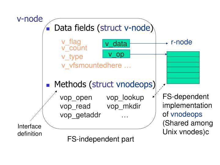 v-node