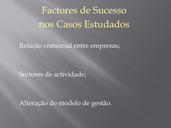 Factores de Sucesso