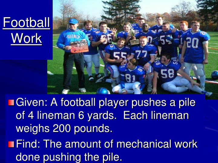 Football Work