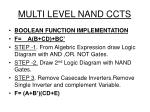 multi level nand ccts1