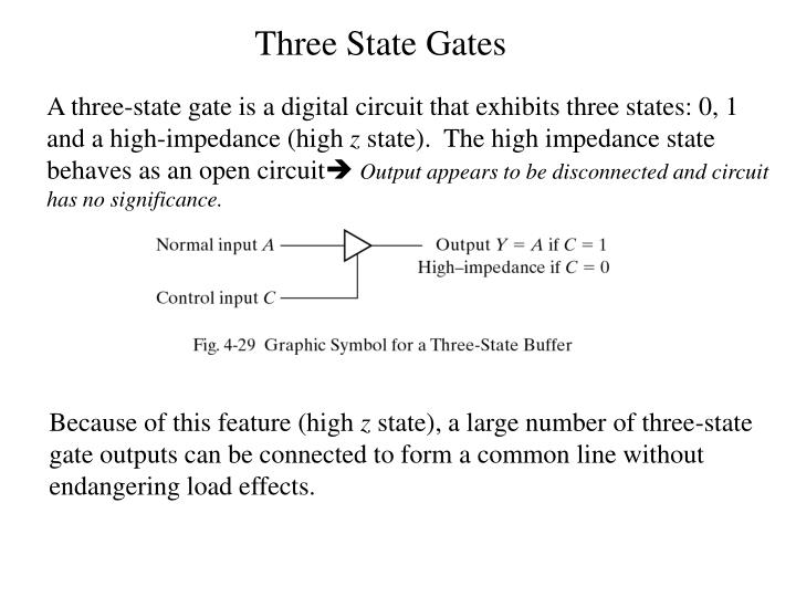 Three State Gates