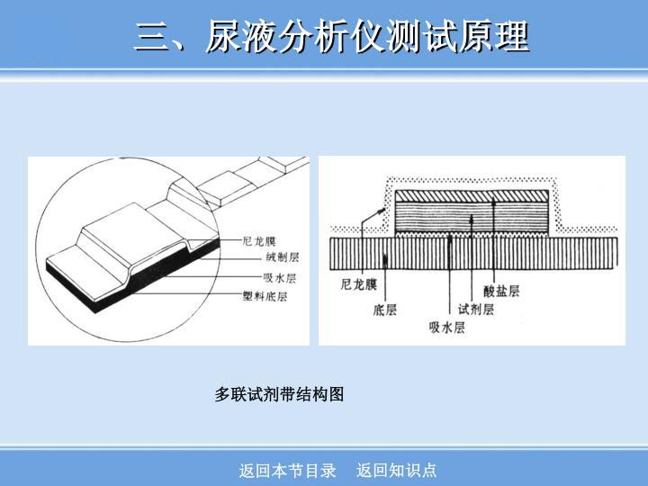 三、尿液分析仪测试原理
