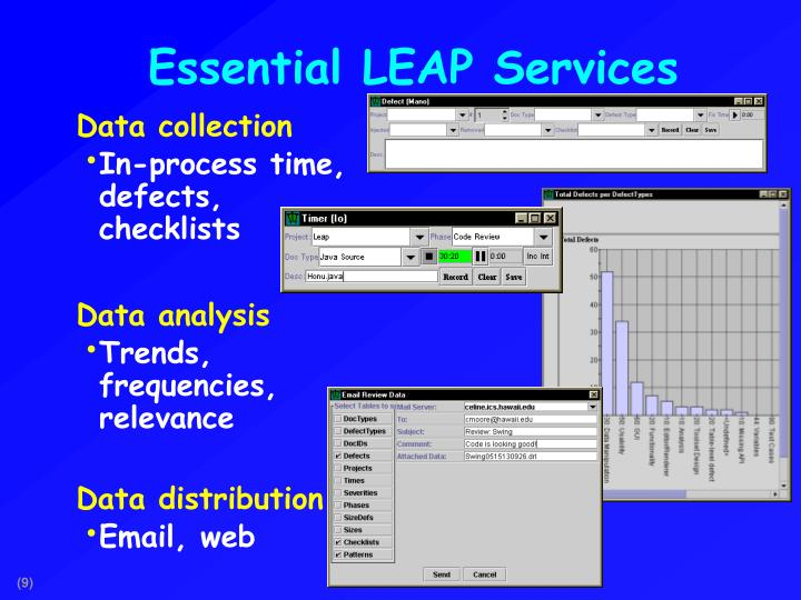 Essential LEAP Services