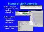 essential leap services