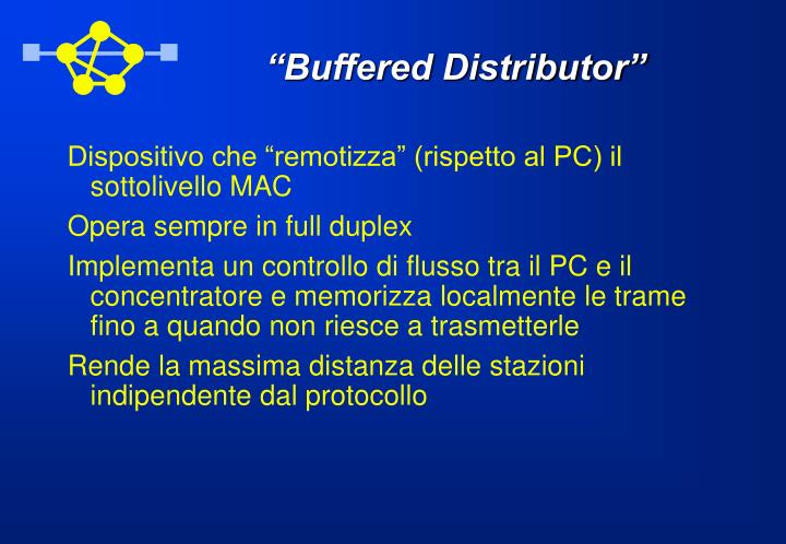 """Buffered Distributor"""