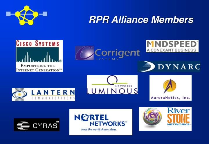 RPR Alliance Members