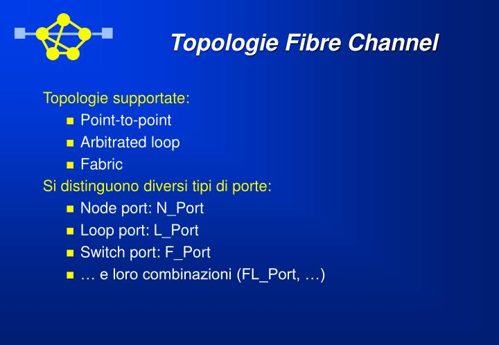 Topologie Fibre Channel