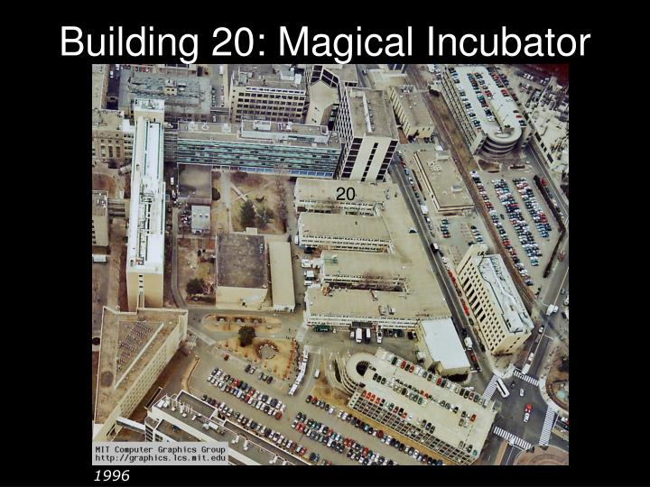 Building 20: Magical Incubator