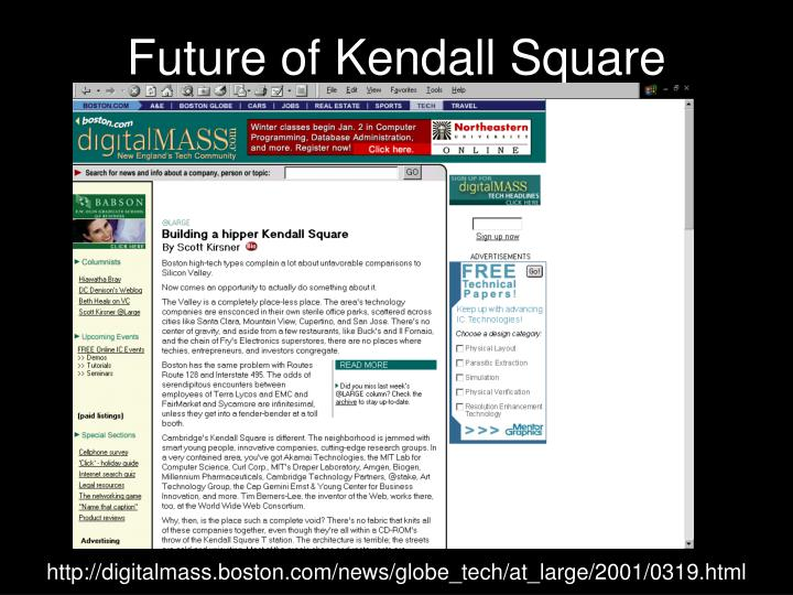 Future of Kendall Square