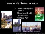 invaluable sloan location
