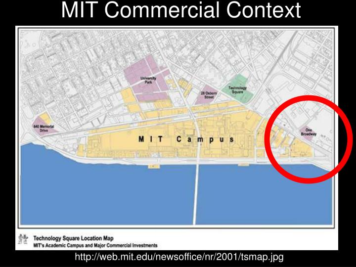 MIT Commercial Context