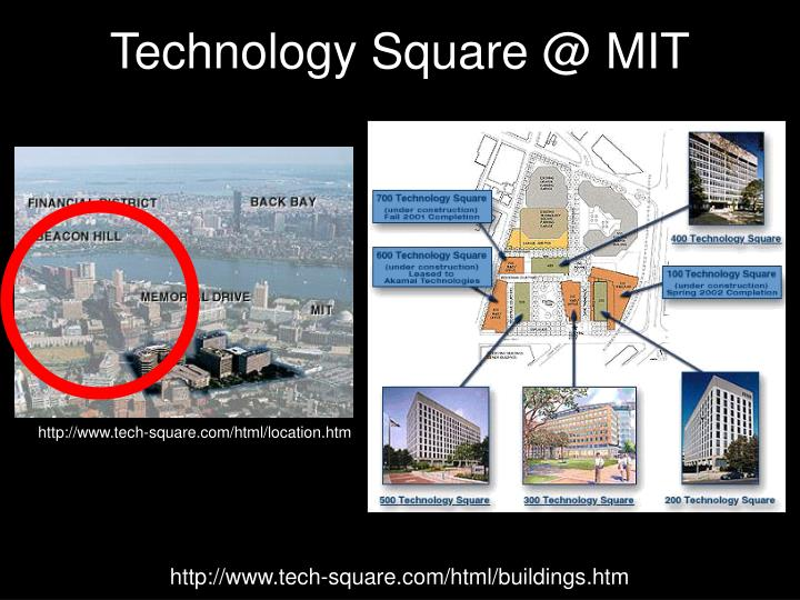 Technology Square @ MIT