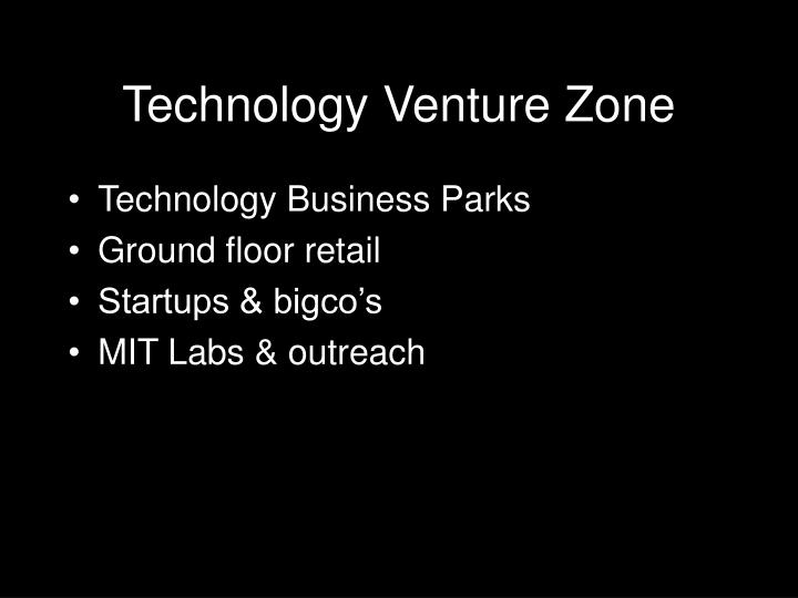 Technology Venture Zone