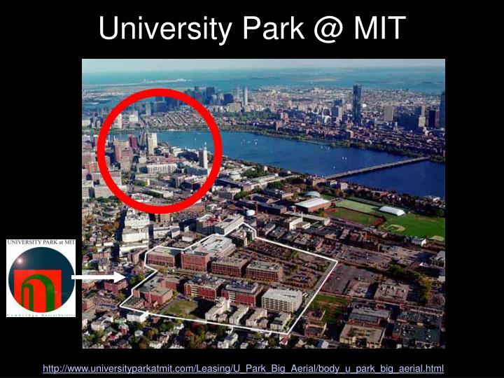 University Park @ MIT
