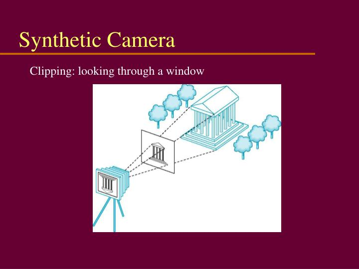 Synthetic Camera