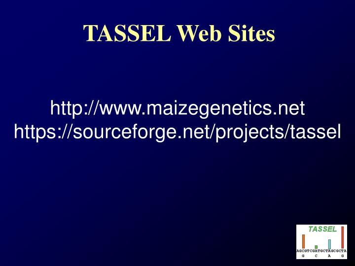 TASSEL Web Sites