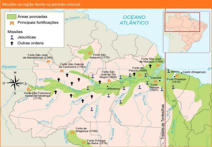 Missões na região Norte no período colonial