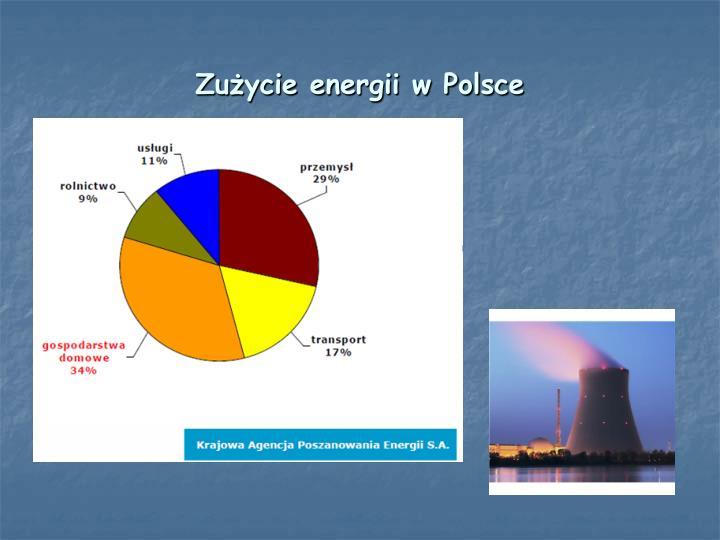 Zużycie energii w Polsce