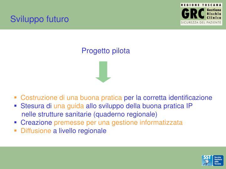 Sviluppo futuro