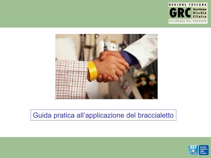 Guida pratica all'applicazione del braccialetto