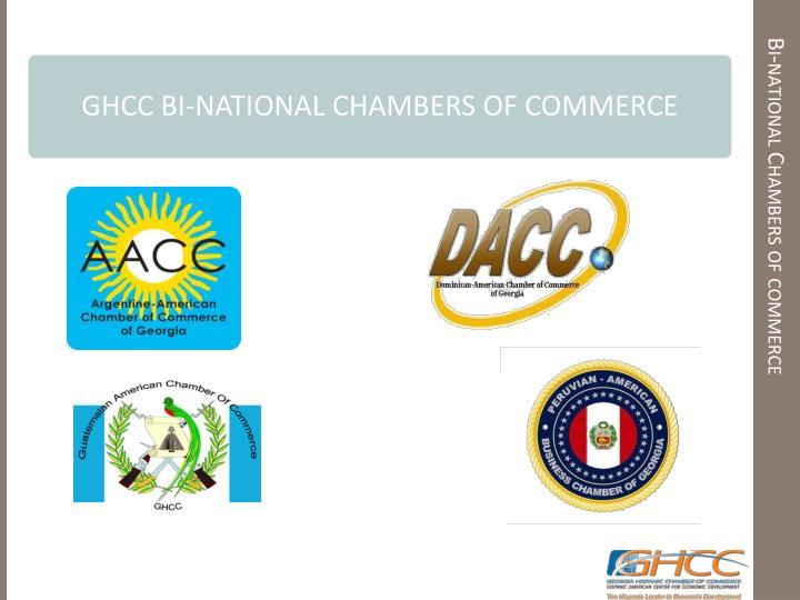 Bi-national Chambers of commerce
