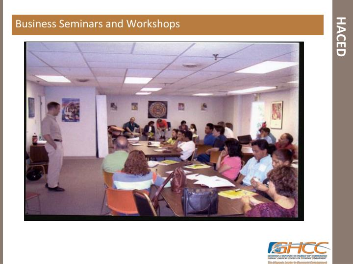 Business Seminars and Workshops