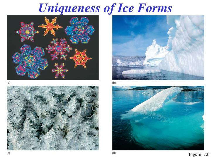 Uniqueness of Ice Forms