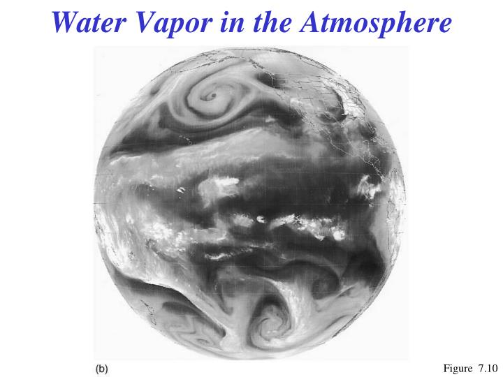 Water Vapor in the Atmosphere