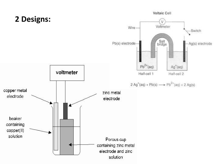 2 Designs: