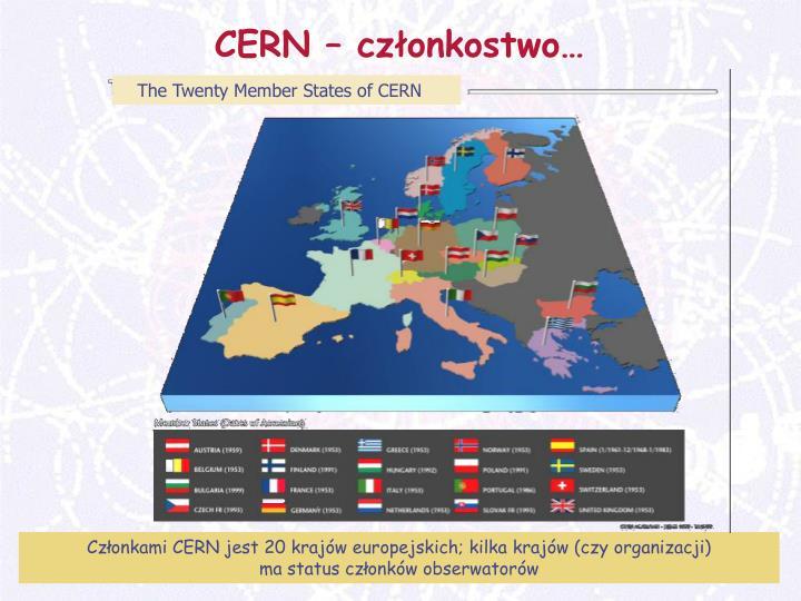 CERN – członkostwo…