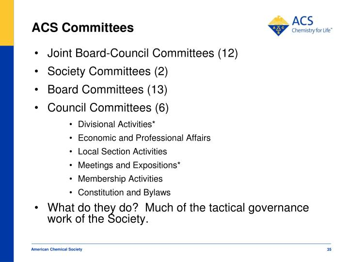 ACS Committees