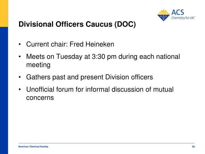 Divisional Officers Caucus (DOC)