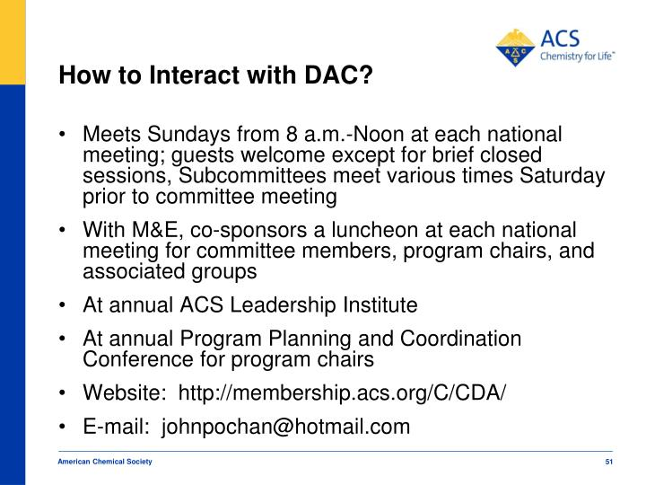How to Interact with DAC?