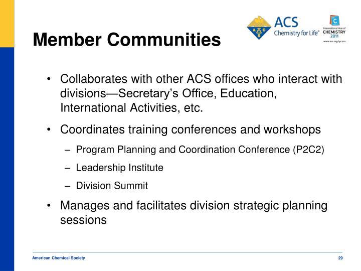 Member Communities
