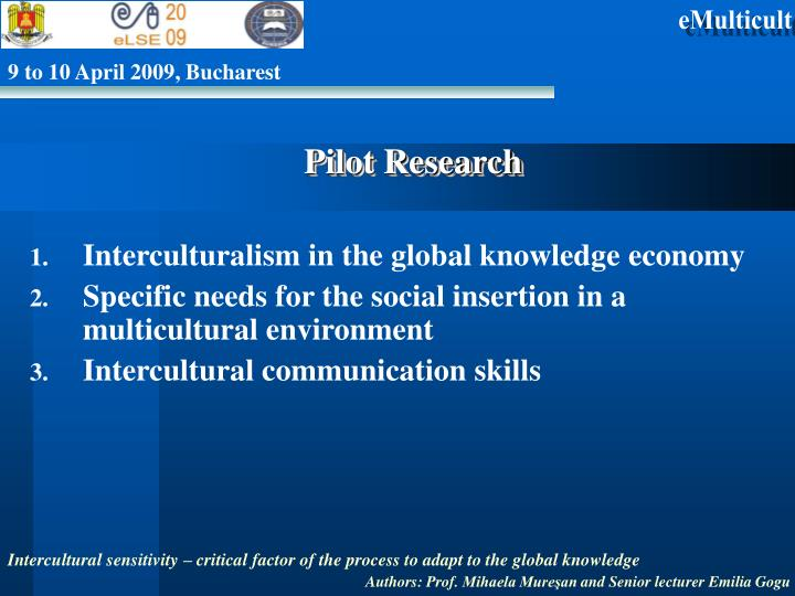 Pilot Research