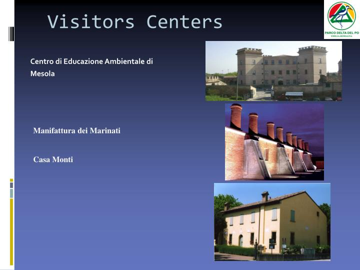 Visitors Centers