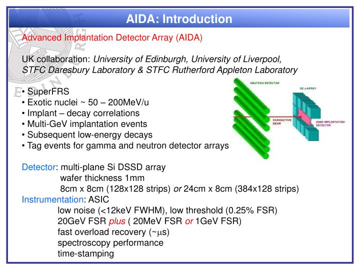 AIDA: Introduction