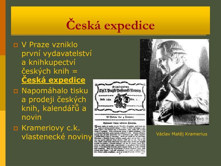 Česká expedice