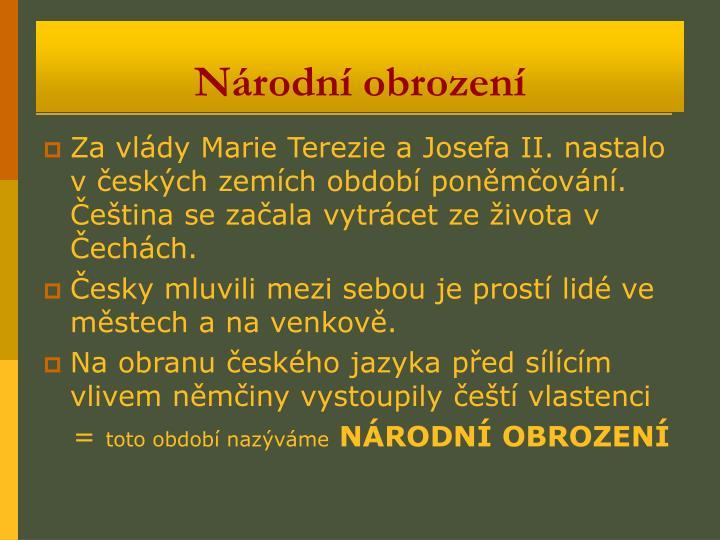 Národní obrození