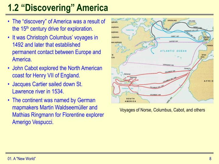 "1.2 ""Discovering"" America"