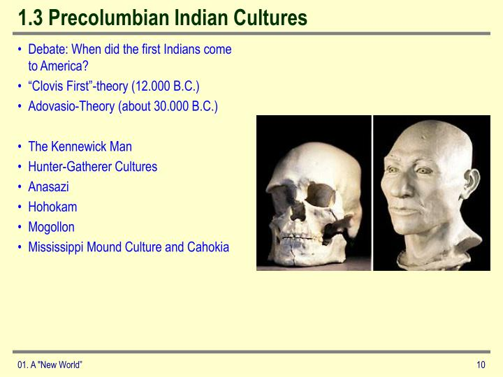 1.3 Precolumbian Indian Cultures