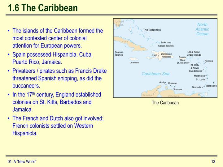 1.6 The Caribbean